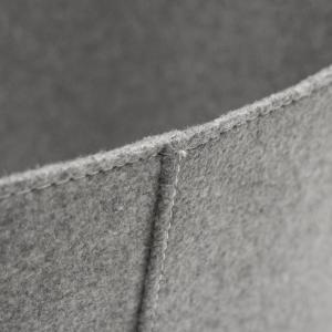 Filzkorb grau XL