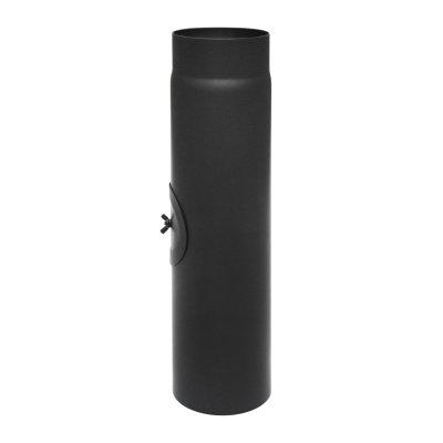 RR schwarz Ø150mm L: 500mm Zugregulierung