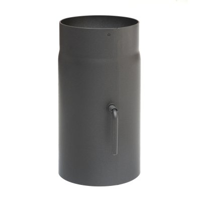 RR gussgrau Ø150mm L: 250mm Zugregulierung