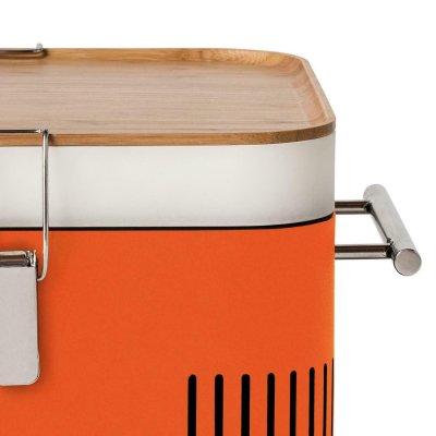 Everdure CUBE™ Holzkohlegrill Orange + Tragetasche