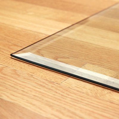 Glasbodenplatte Zunge 2 inkl. Facette         1000 x 1200 mm