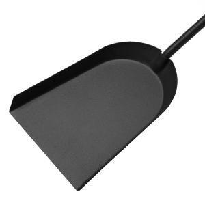 Raik Kaminbesteck 3-tlg EDGAR, schwarz mit Edelstahlgriffen